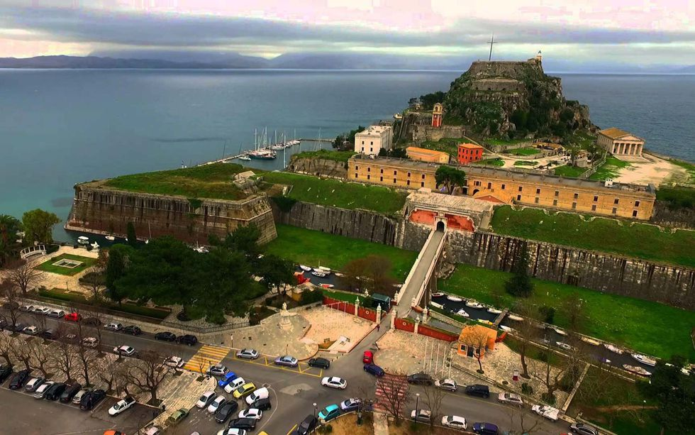 Old Fortress - Corfu Town - Kavos Excurs