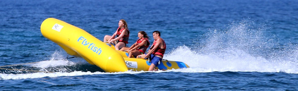 Kavos Corfu Watersports | Flyfish Towable | Kavos Beach Activities | Kavos Fun In The Sun | Kavos Action | Kavos Entertainment