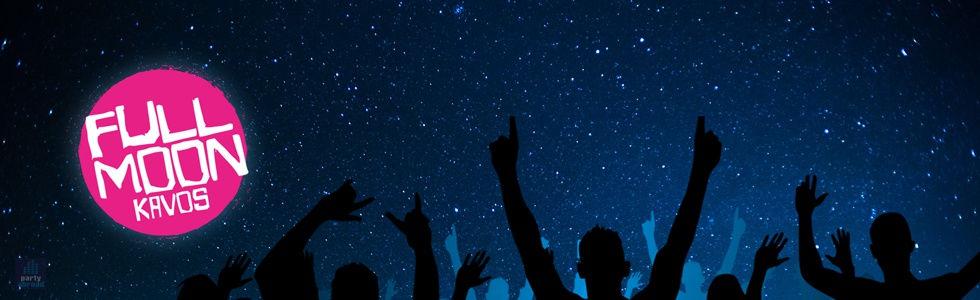 Full Moon Party Kavos | Atlantis Beach Venue Kavos Corfu | Fireworks In Kavos | Biggest Beach Party In Kavos Corfu