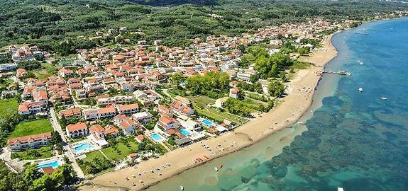 Kavos Holiday Resort | Kavos Corfu Aerial Photography | Tourist Holidays In Kavos | Best Holidays In Greece | Amazing Summer In Kavos Corfu Greece