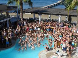 VIP Booths Quayside Fridays Pool Par