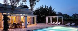 Greek Luxury Accommodations - Villa Ricci Avlaki Corfu - Amazing Summer Homes In Corfu