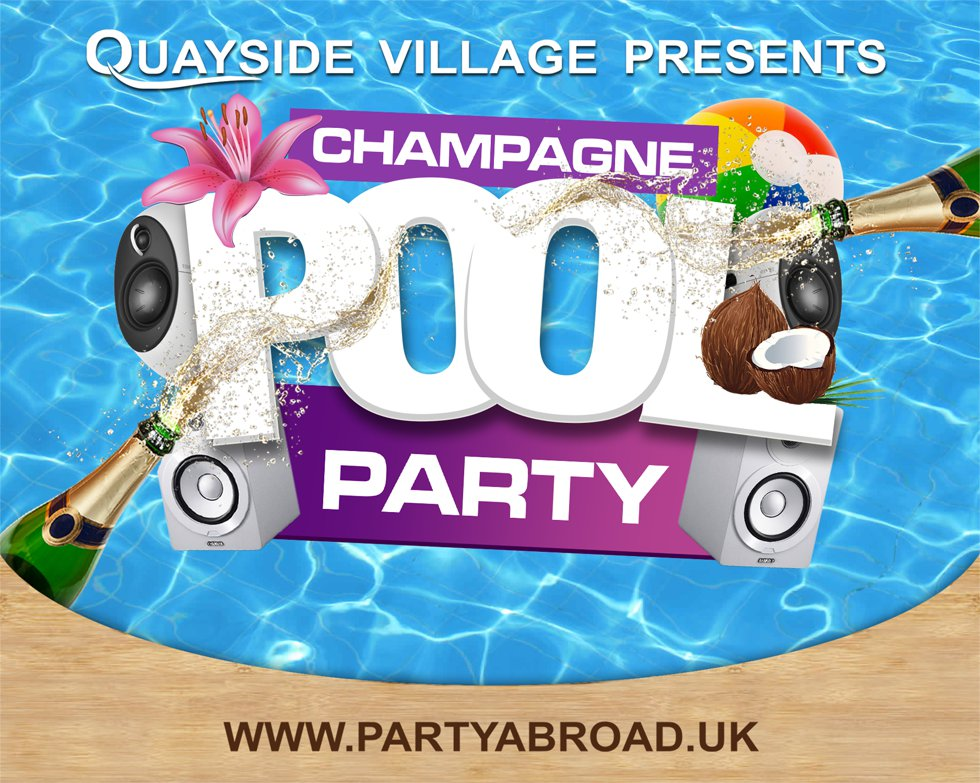 Quayside Village Kavos - Champagne Fridays Pool Party Kavos