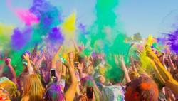 Holi Colours Festival - Kavos Parties - Kavos Events - Atlantis Beach Venue Kavos Corfu