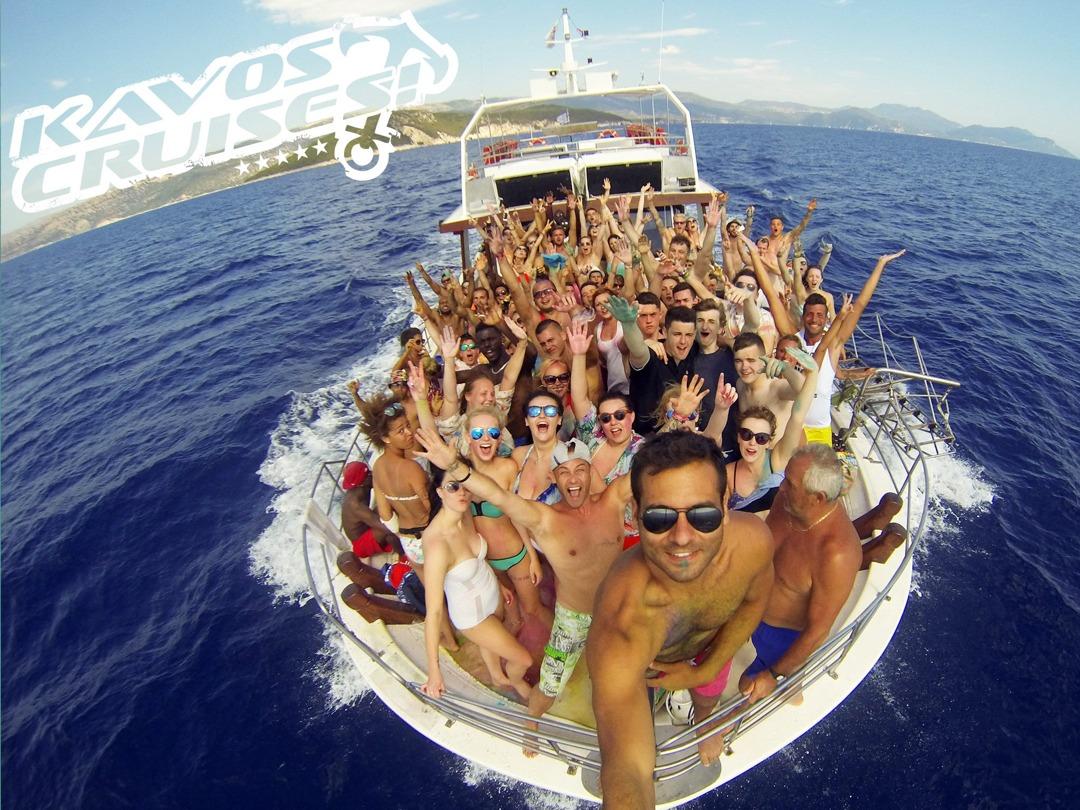 Kavos Cruises Booze Cruise Party Boat Kavos Corfu
