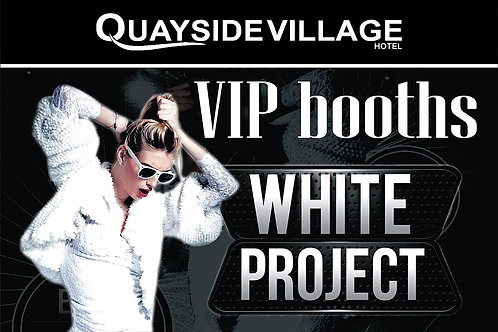 VIP Booth Reservation | White Project Party 2021 | July 29th Thu