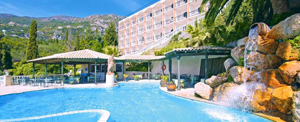 Paleo ArtNouveau Hotel | Accommodations In Paleokastritsa | Hotels In Corfu | Where To Stay In Paleokastritsa Corfu | Greek Hotels