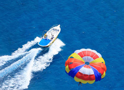 Kavos Parasail - Kavos Amazing Vacations - Kavos Water Sports - Kavos Attractions - Kavos Super Beac