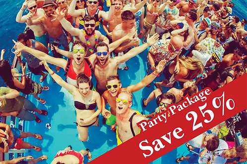 Kavos Party Package 2018