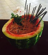 Watermelon Drinks Kavos Corfu - Creative Bartending Kavos- Quality Cocktails Corfu Kavos - Best Drinks On The Beach In Kavos