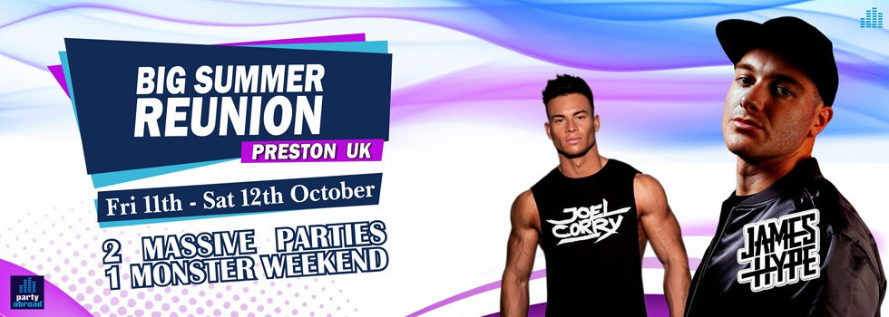 Big Summer Reunion In Preston UK October 2019