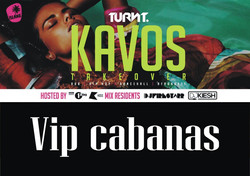 VIP Cabanas For TURNT Takeover Party