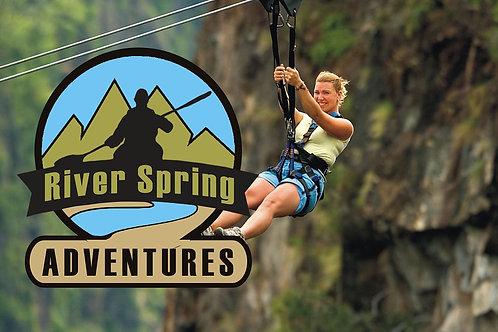 Acheron River Spring Adventures | Kavos | E-Ticket | June 2021