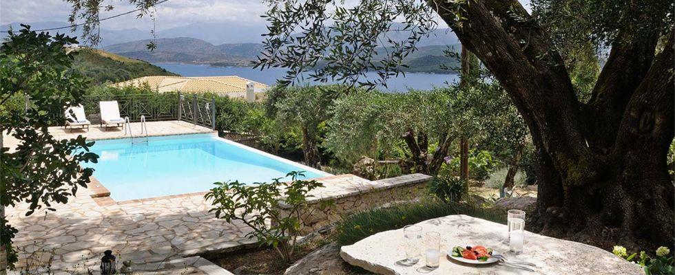 Greek Luxury Villas - Amazing Villas In Corfu - Villa Ricci In Avlaki Corfu