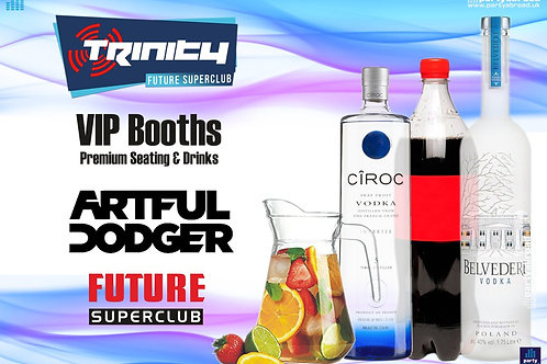 VIP Booth | Artful Dodger | Trinity 2019 | Future | Kavos | June 12th Wed