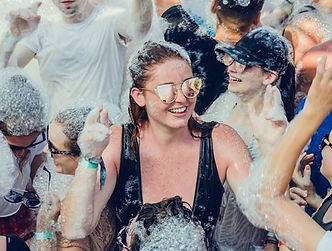 Why do girls love the Mega Foam Party in Kavos