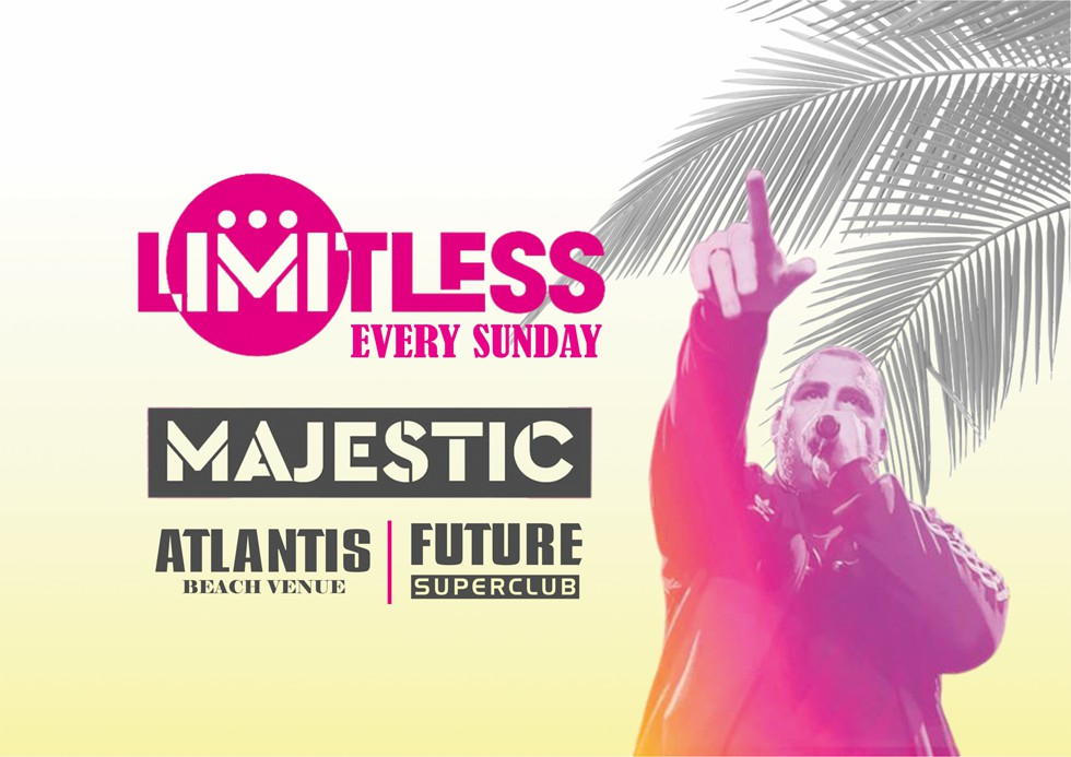 Limitless With Majestic At Atlantis Beach Club In Kavos Corfu - Events And Clubbing In Kavos