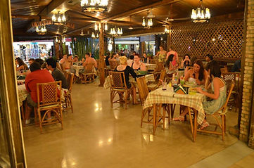 Terry's Taverna Kavos Inner Dining Room View