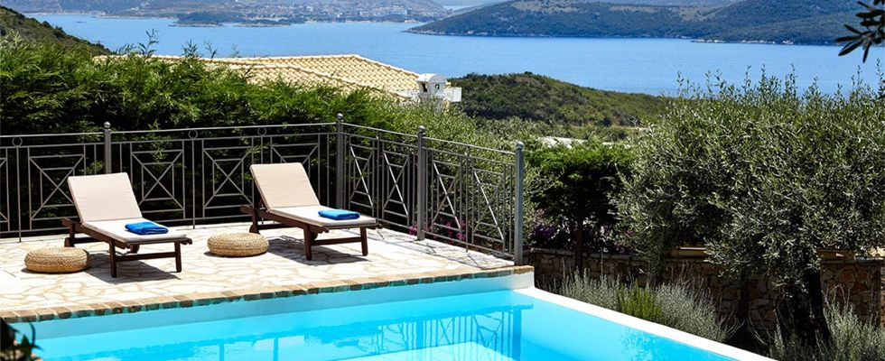 Great Villas In Corfu - Villa Ricci In Avlaki Beach - Summer Accommodations In Greece