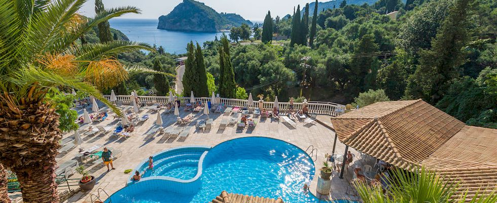 Amazing Hotels In Corfu Greece - Paleo ArtNouveau Paleokastritsa - Best Resorts In Corfu