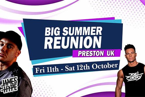 The Big Summer Reunion | Rift Club | Switch Nightclub | Joel Corry | James Hype