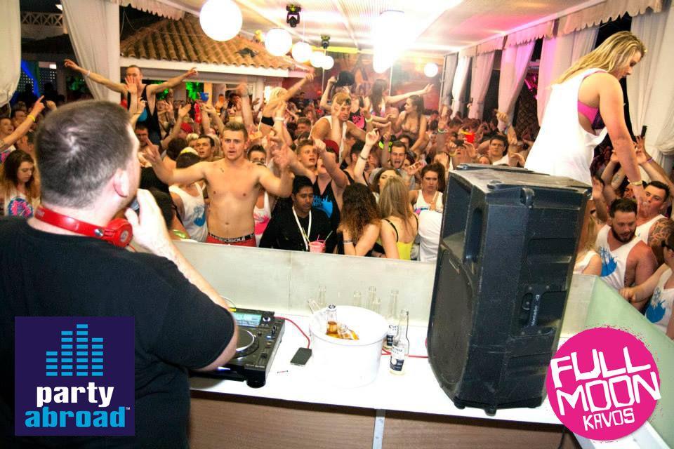 Kavos Full Moon Party - Kavos Events - Kavos Clubbing - Kavos Nightlife - Atlantis Kavos Corfu