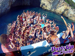Party Up Booze Cruise Kavos Corfu - Crazy Fun At Kavos - Amazing Boat Trip Kavos Corfu