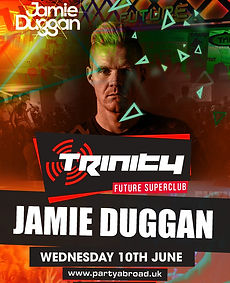 Jamie Duggan Trinity Event Kavos June 10th 2020
