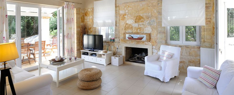 Amazing Summer Villas In Greece - Luxury Accommodations In Corfu - Villa Ricci Avlaki Beach