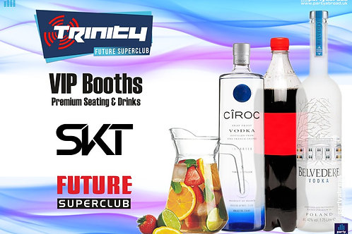 VIP Booth | SKT | Trinity 2019 | Future | Kavos | Aug 14th Wed