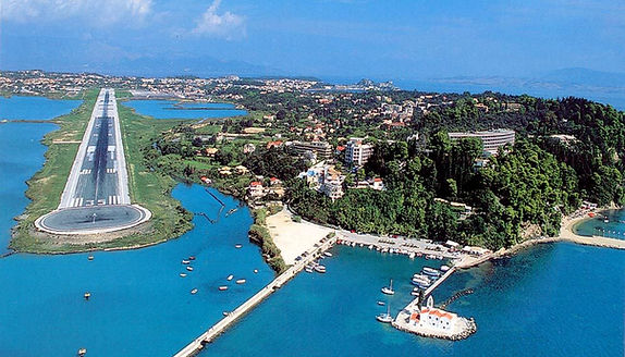 Corfu Airport Gets Refurbished