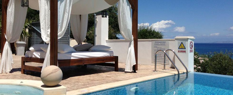 Greek Luxury Villas - La Pearl Villa Messonghi Corfu - Dream Villas In Greece