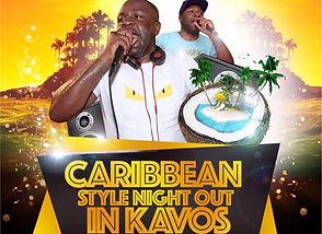 The Venue Night Club Kavos DJ Andrew Fresh Caribbean Nights
