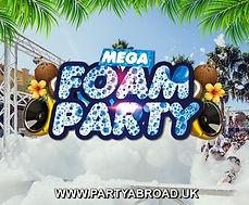 Mega Foam Party Kavos Corfu   Atlantis Beach Venue Kavos