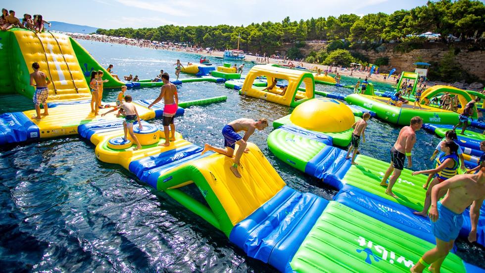 Brand New Water Activities Park In Kavos Corfu - Kavos Aqua Park - Kavos Entertainment - Kavos Fun T