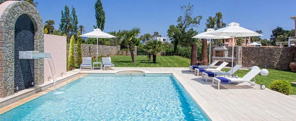 Luxurious Accommodations In Corfu - Villa Marcela II In Dasia - The Best Villas In Greece