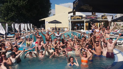 Kavos Pool Parties - The Island Pool Party - Kavos Pool Party Sundays - VIP Cabanas Kavos - VIP Caba