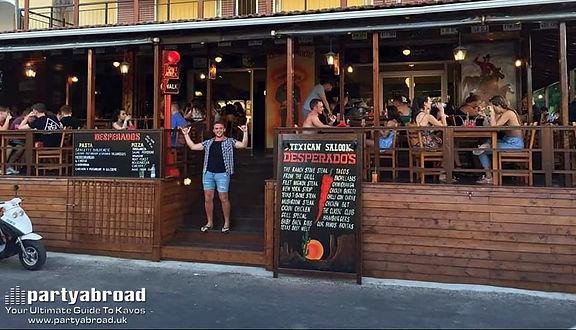 Desperados Texican Saloon Restaurant In Kavos Corfu