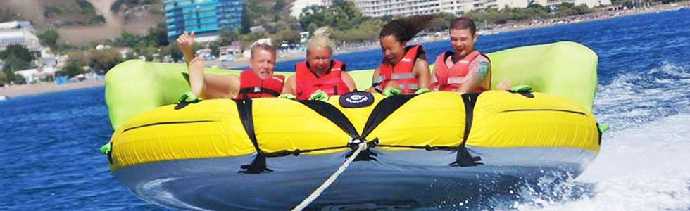 Kavos Corfu Watersports | Crazy Sofa Towable | Kavos Activities | Kavos Fun In The Sun | Kavos Entertainment