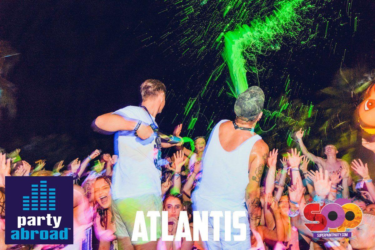 Atlantis Beach Club Kavos Corfu - Super Paint Party Kavos
