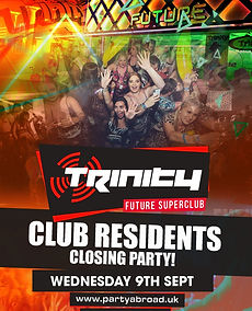 Closing Party Trinity Event Kavos September 2020