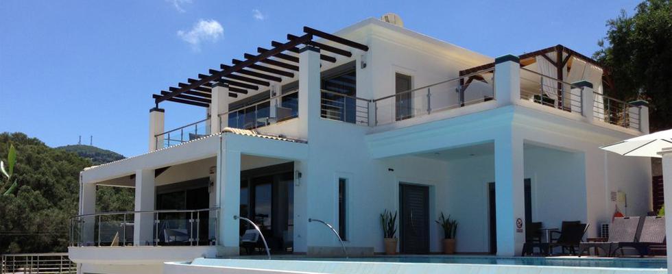 Excellent Villa In Corfu - Greek Luxury Accommodations - La Pearl Villa Messonghi Corfu
