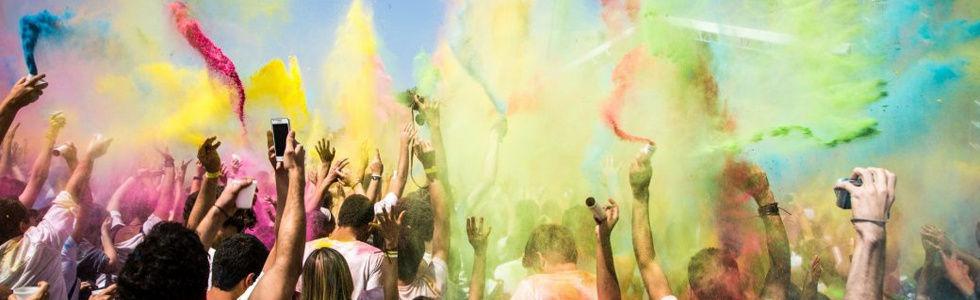 Holi Colours Party Kavos | Atlantis Beach Venue Kavos Corfu | The Biggest Colour Powder Party In Kavos