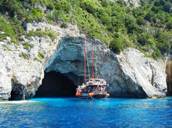 Captain Theo's Mythical Cruise - Poseidon's Bay - Kavos Boat Cruises - Explore The Bays in Kavos Cor