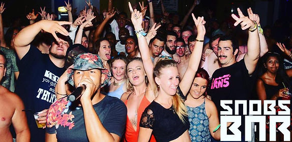 Snobs Bar Kavos - Urban Venue In Kavos Corfu - Best Late Night Entertainment - HipHop RNB Music In Kavos