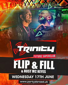 Flip And Fill And Keyes Trinity Event Kavos June 17th 2020
