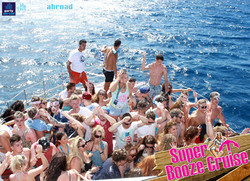 Booze Cruise Boat Party Kavos Corfu