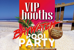 Baywatch Pool Party VIP Booths Kavos