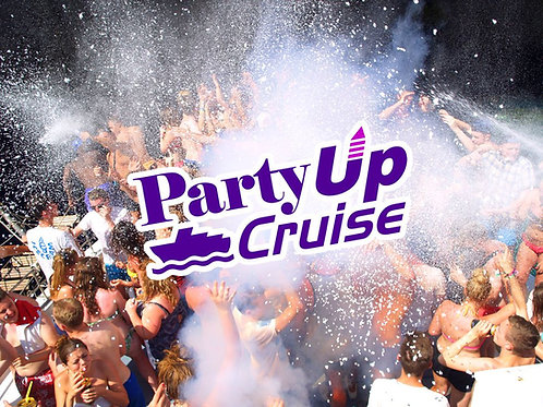 Party Up Cruise 2021 | Kavos Boat Party | Aug 30th Mon | E-Ticket
