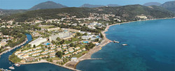 Greek Resorts - Messonghi Beach Hotel - Corfu Accommodations - Greek Bungalows